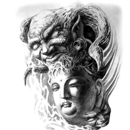 Wzór Tatuażu Demon Monika Wypożyczalnia Sprzętu